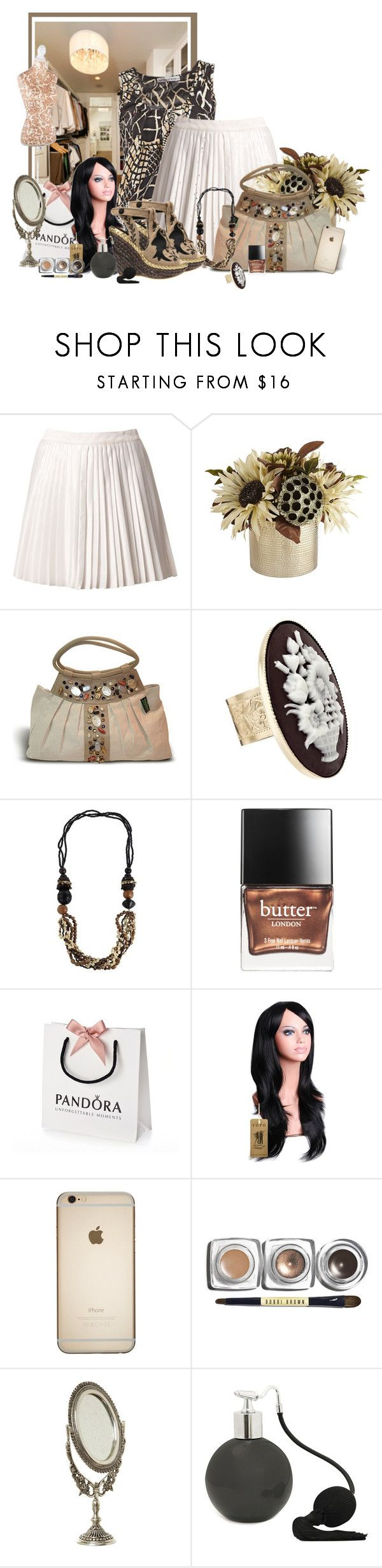 """conceptions de placard"" by frane-x ❤ liked on Polyvore featuring Estradeur, Pier 1 Imports, Irregular Choice, Butter London, Bobbi Brown Cosmetics and Shabby Chic"