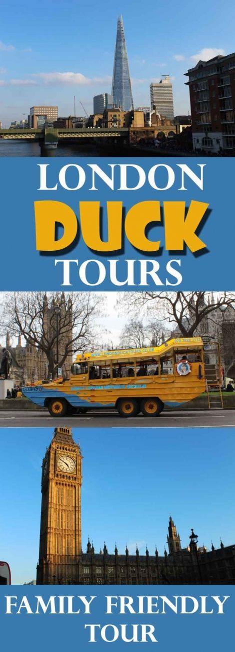 Review: We had a fabulous and wonderfully quirky tour of London on board the London Duck Tours. From Waterloo to the Houses of Parliament from the Thames.  I love open top tourist buses but this is even better - memorable and different!  A cruise boat as
