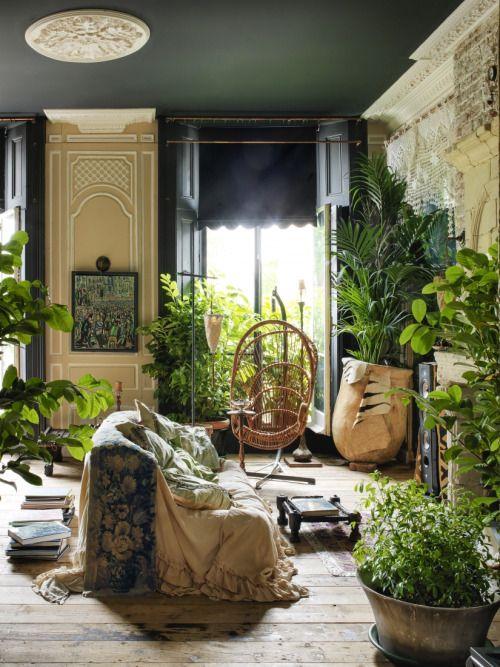 Botanical interior design