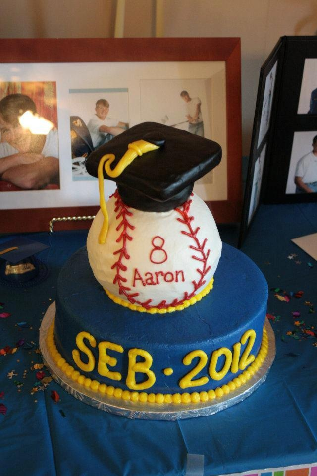 Baseball Graduation My Cakes Pinterest