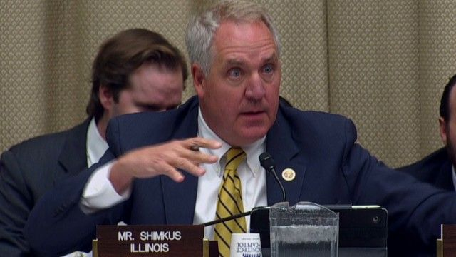 Republican Rep. John Shimkus is under fire after comments he made Wednesday about prenatal requirements in the Affordable Care Act, also known as Obamacare.
