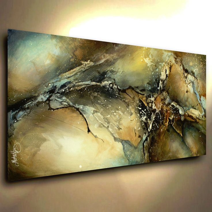 Abstract Art Modern CONTEMPORARY Giclee Canvas Print of a Michael Lang Painting in Art, Direct from the Artist, Paintings | eBay