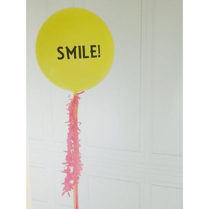 Yellow Opaque Balloon - LIMITED EDITION