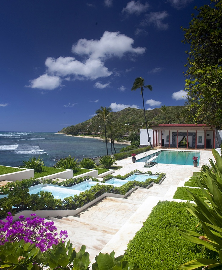 136 best images about the lonely duchess doris duke on for Pool design honolulu