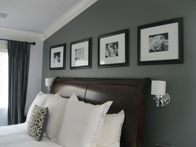 Master bedroom accent wall? http://www.californiapaints.com/content/color-details/DE-6369--Legendary-Gray/2814.aspx