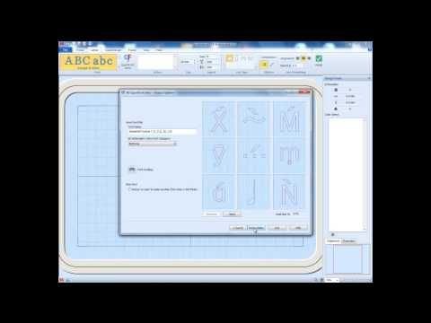 Applikationsdesign mit 6D™ Embroidery Intro