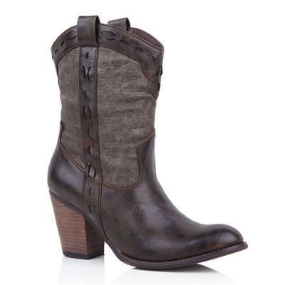Женские ковбойские ботинки в москве
