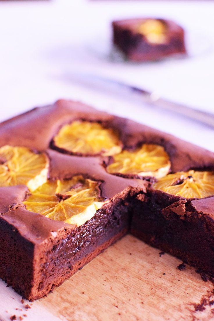 Συνταγή Brownies Με Σοκολάτα και Πορτοκάλι | Cool Artisan