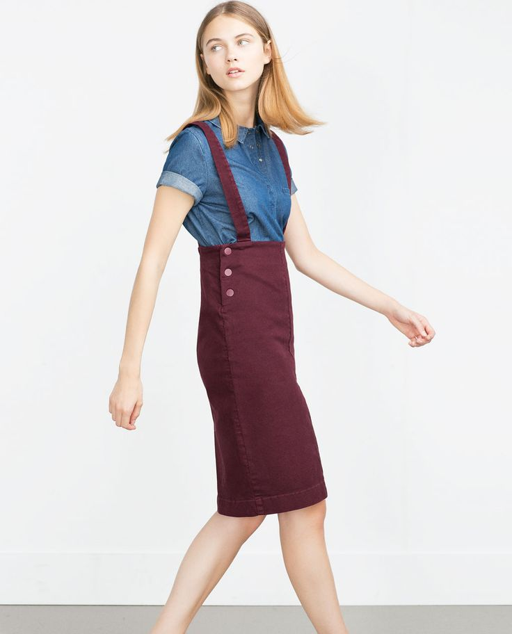 DENIM SKIRT-View all-Skirts-WOMAN | ZARA United States