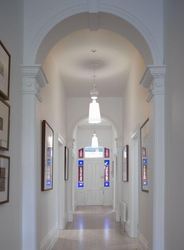 Pasillo arqueado #pasillos #Hallways #design