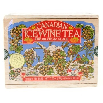 Canadian Ice Wine tea - just drank this for the first time this week with friends and it was wonderful. Must get some for myself :)