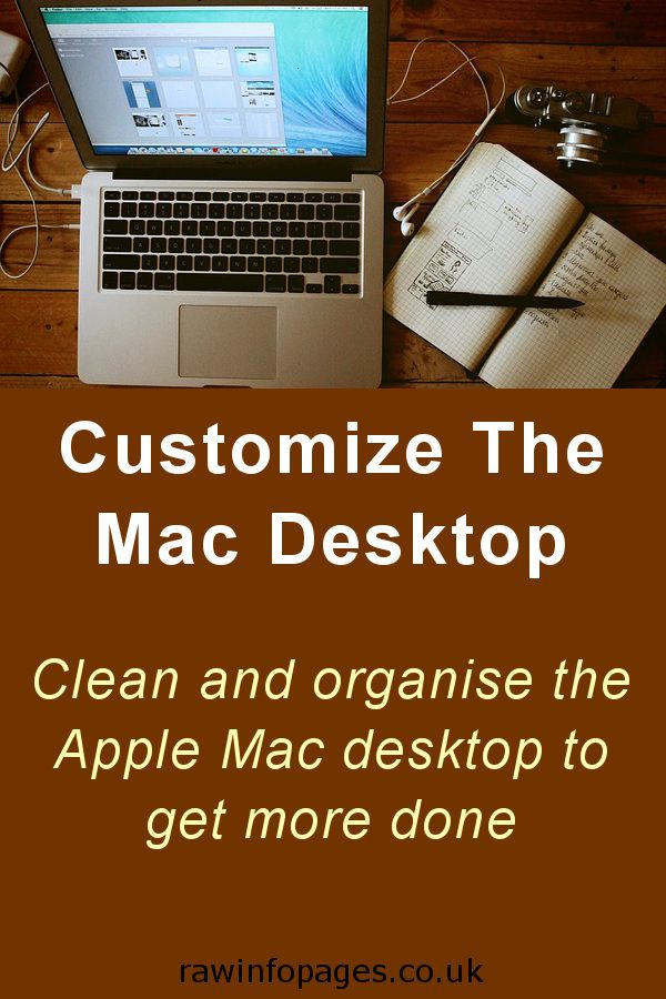Groovy 8 Ways To Customize The Desktop On The Apple Mac Download Free Architecture Designs Photstoregrimeyleaguecom
