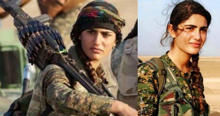 """La """"Angelina Jolie kurda"""" muere en combate contra ISIS en Siria"""