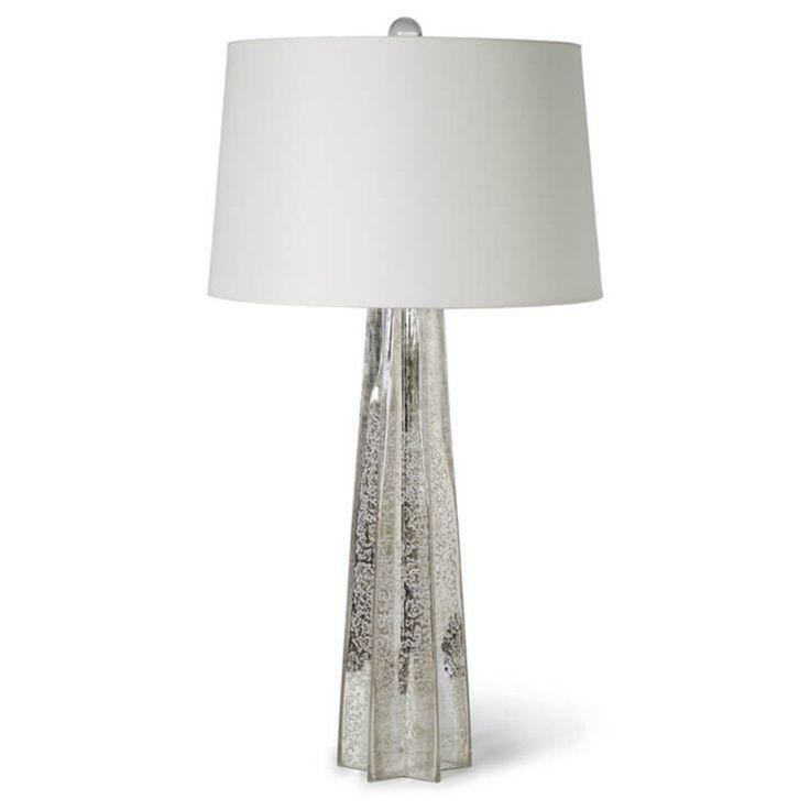 Antique Mercury Glass Star Lamp - Regina Andrew