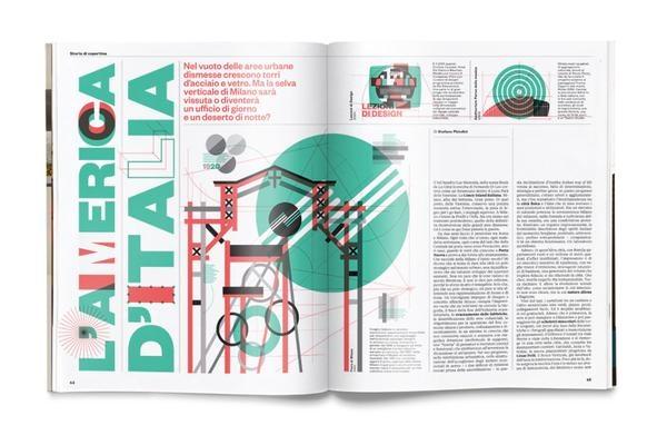 L'America d'Italia: Editorial Layout, Layout Inspiration, Magazines Design, Layout Design, Graphics Design, Magazines La, Books Layout, Il Magazines, Editorial Design