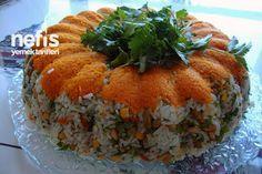 Çin Salatası (Pirinç Salatası) Tarifi