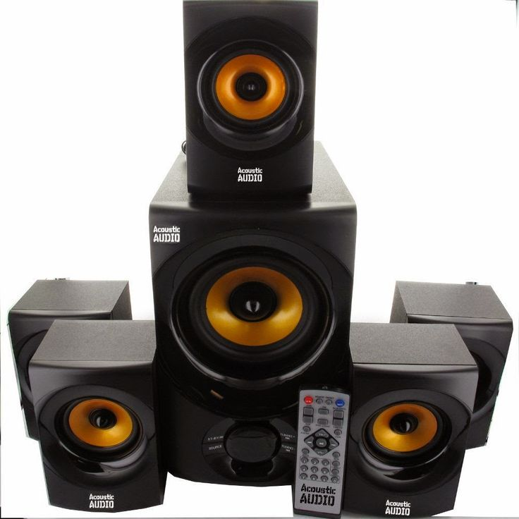 Sale 41% Off Acoustic Audio AA5170 Home Theater 5.1 Bluetooth Speaker System 700W with Powered Sub - Store Online for Your Live and Style