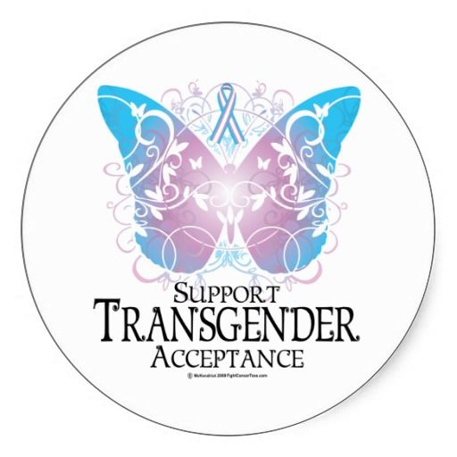 Transgender Butterfly. Created By fightcancertees.
