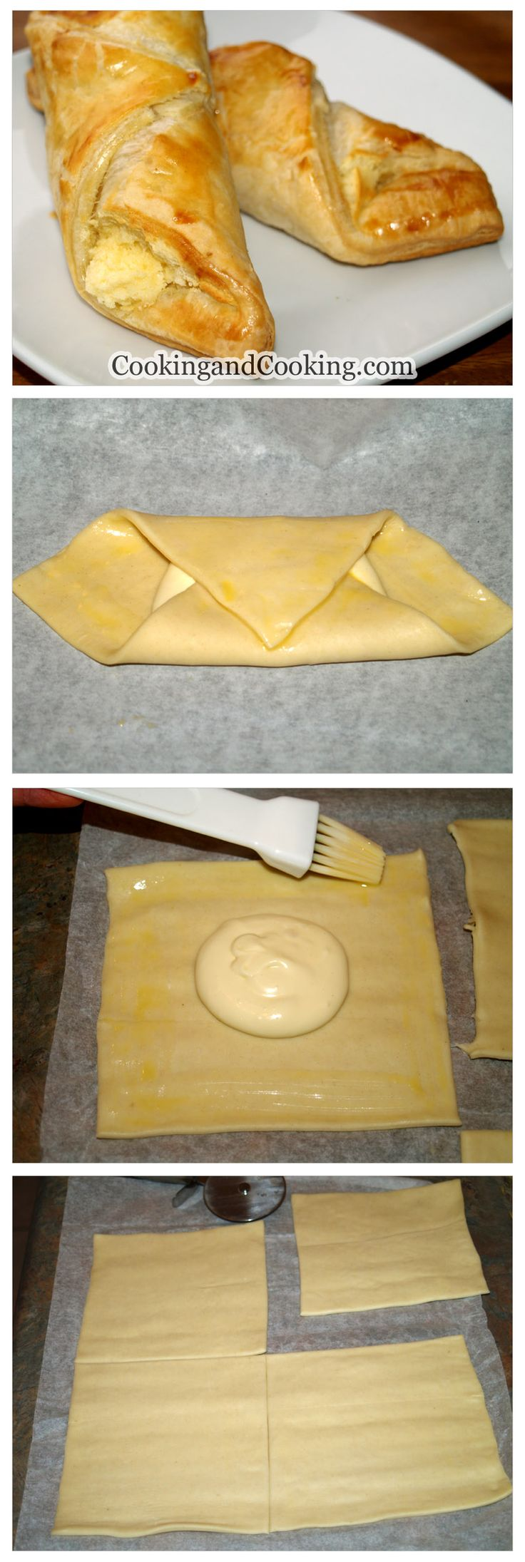 Simple Cheese Danish Recipe
