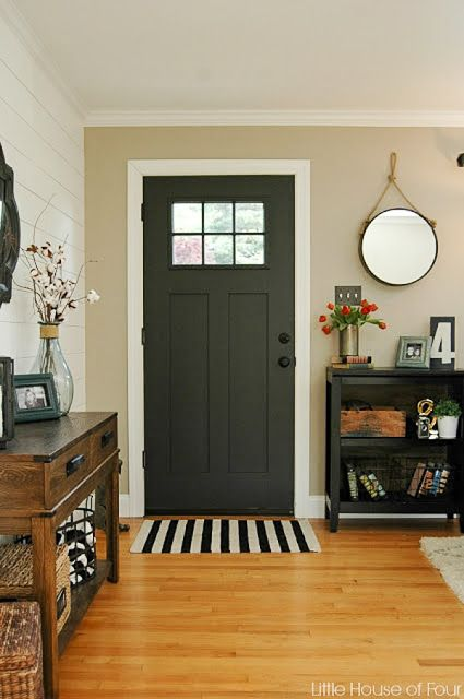 {Entryway Update} HomeGoods Knob Love And a $5.00 Clearance Rug