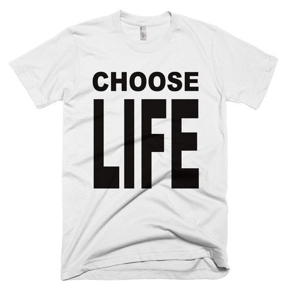 CHOOSE LIFE T-Shirt Wham Custom Hand Made George Michael 80s Retro Fancy Dress S-3XL- Gift Christmas Present   #Gift #Shirts #tee #Unisex #in #Custom #on #Present #T #PokemonTShirts