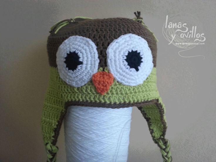 Tutorial Gorro Búho Crochet Paso a Paso