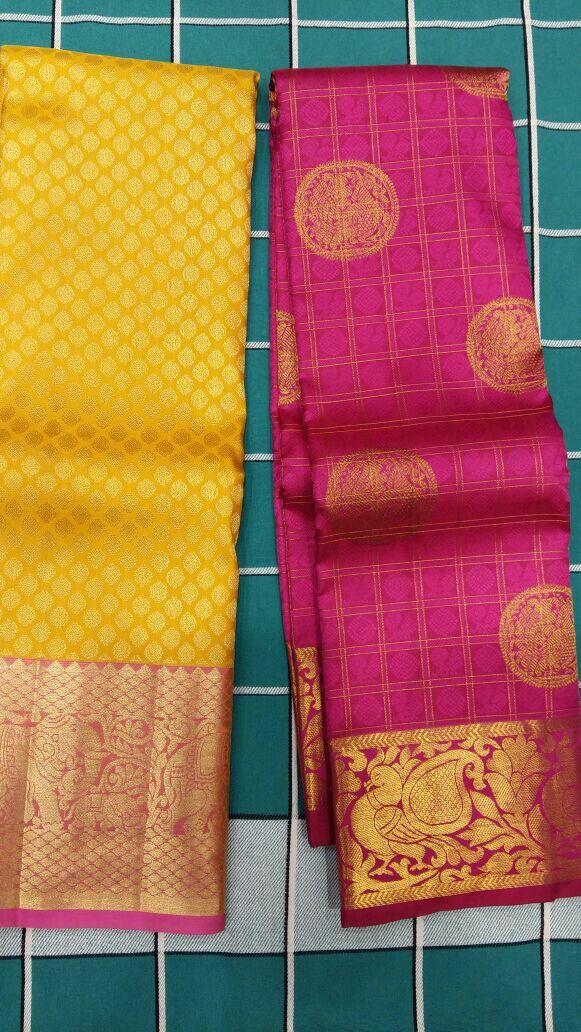 I love the yellow saree!!!
