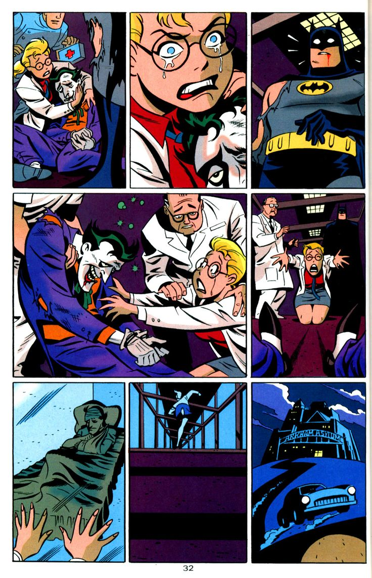 I Love Dc Comics : The batman adventures mad love dc comics february