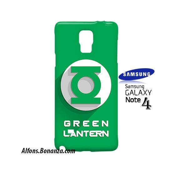 Green Lantern Superhero Samsung Galaxy Note 4 Case