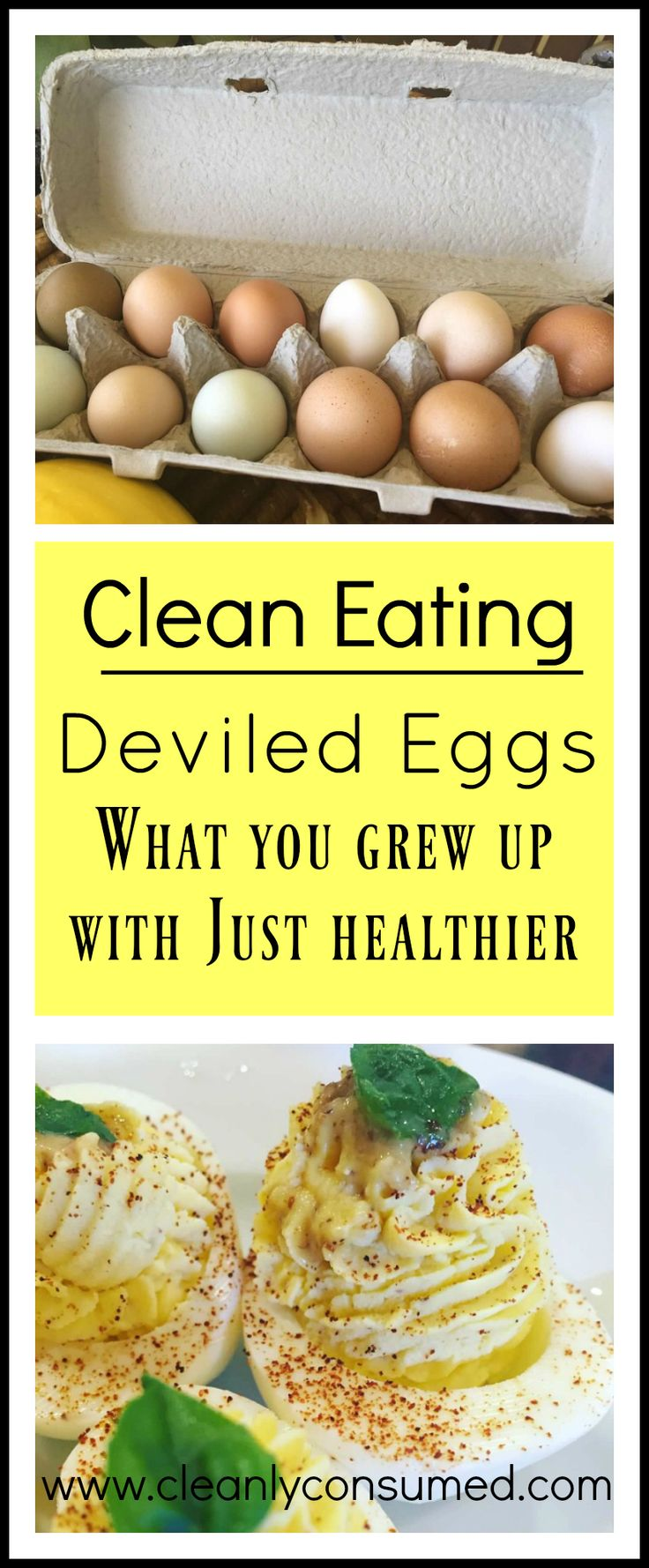 The Deviled Eggs you grew up with... only healthier!