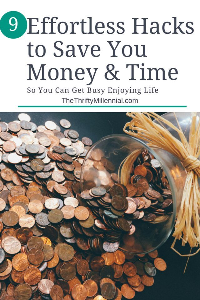 9 Life Hacks to Save Time & Money! | The Thrifty Millennial