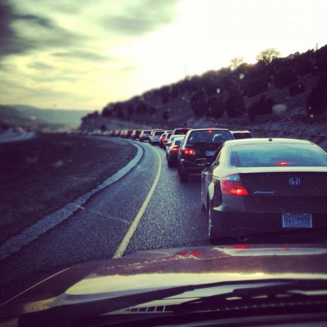 Beautiful traffic