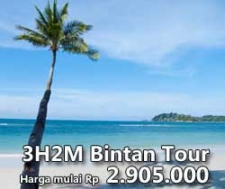 3D2N Bintan Tour. Relaxing in one of Indonesia's top spots. Far away from the bustling city
