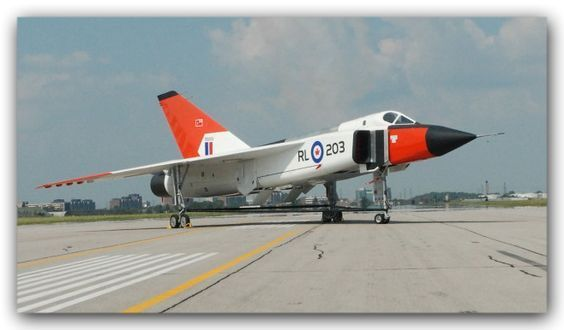 Royal Canadian Air Force Avro CF-105 Arrow