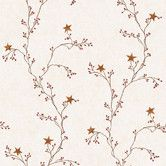 Found it at Wayfair - Welcome Home Star Berry Vine Wallpaper