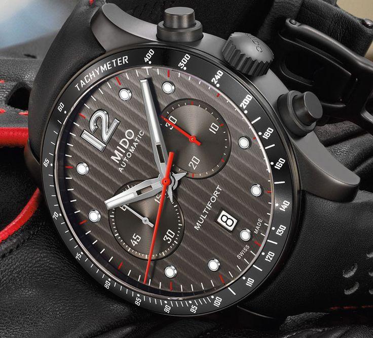 Der neue Mido Multifort Chronograph Caliber 60 ist nicht nur für motorsportbegeisterte Uhrenliebhaber. Hier trifft Innovation auf Präzision: alles über den neuen Chrono