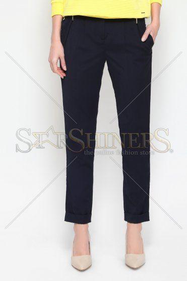 Pantaloni Dama Top Secret SSP1929 DarkBlue • Top Secret Compozitie 64%…
