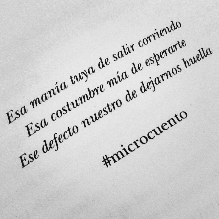 ... #Microcuentos ...