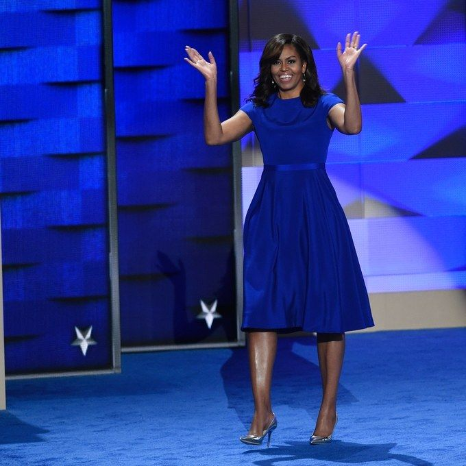 25july2016---First Lady Michelle Obama at 2016 DNC Convention