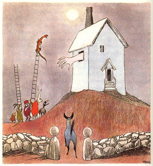 Tove Jansson's Rare Vintage Illustrations for Alice in Wonderland | Brain Pickings