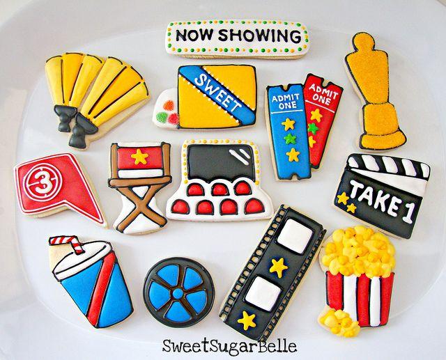 Movie Night Cookies (SugarBelle)