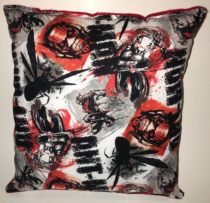 "Ant-Man Pillow Marvel Comics Pillow Ant Man Pillow Antman Pillow is approximately 10"" X 11"" . THE PILLOW WOULD MAKE GREAT GIFT FOR BIRTHDAYS,HOLIDAYS, NAP TIME, CAR RIDES, HOSPITAL STAYS, DAY CARES & MORE. ~BRAND NEW~ ~HANDMADE~ Ant-Man Pillow Marvel Comics This Cuddly Cotton/Flannels Pillow is approximately 10"" X 11"" Also perfect for nap time, car seat, traveling, stroller rides, kids & teens rooms It is stuffed with 100% Hypo-Allergenic Premium Polyester Fiber-Filled The fabric is Not…"