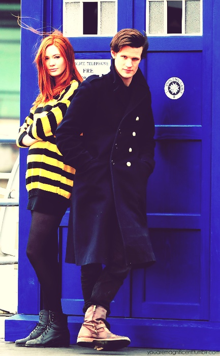 Great pairing: Amelia Pond & the Doctor