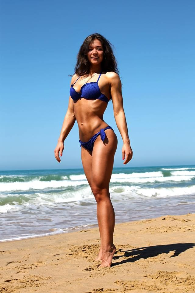 Perfect beach body could not