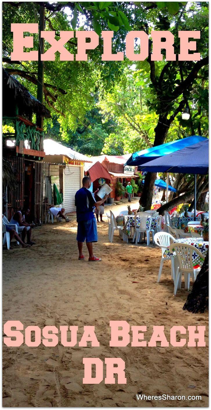 All about Sosua Beach, Dominican Republic. http://www.wheressharon.com/family-trip-usa-caribbean/sosua-beach/ #sosua #dominicanrepublic #travel