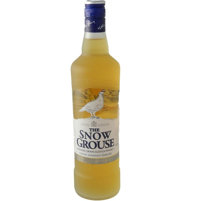 The Snow Grouse Whisky 70cl - premium blend whiskey available to buy online from Bakers and Larners.