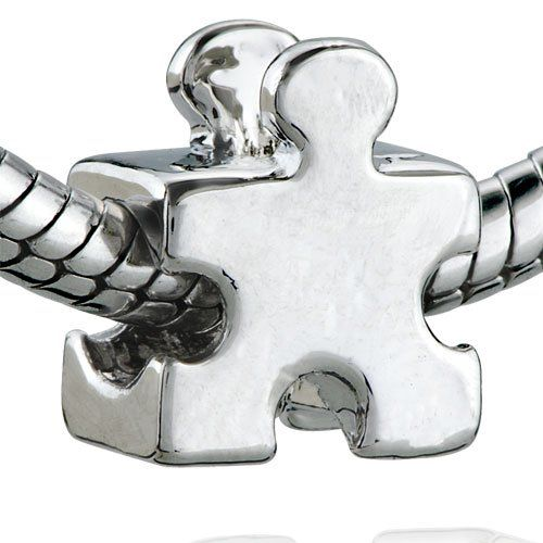 Pugster Autism Puzzle Piece Bead Charm Fits Pandora Bracelet For Only 9 76