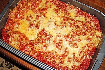 Mangold Lasagne mit Schafskäse