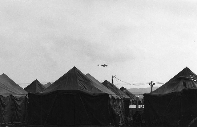 Camp Able Sentry (CAS), Petrovec, Macedonia - 2000