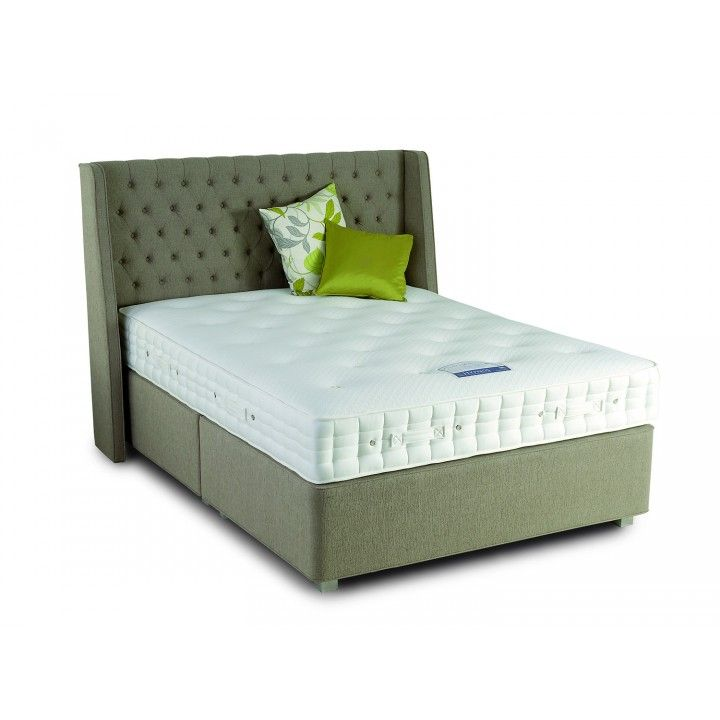 The Deep Sprung Edge Divan Base Has Springs With A Unique Pocket Support System For Additional Comfort Hypnos Euro King